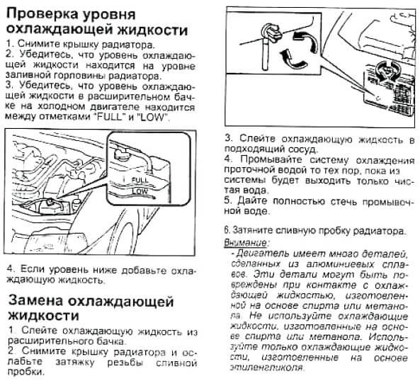 Заміна антифризу Mazda Demio