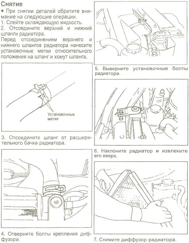 Заміна радіатора на Хюндай Старекс