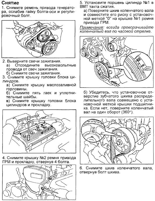 Заміна ременя ГРМ Toyota Corona/Caldina