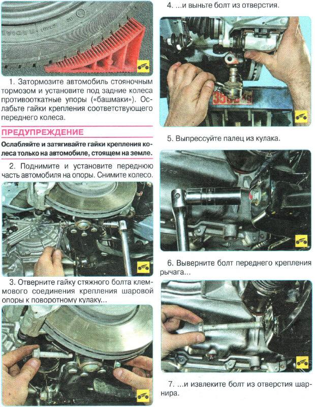 Заміна задніх поздовжніх важелів Suzuki Grand Vitara