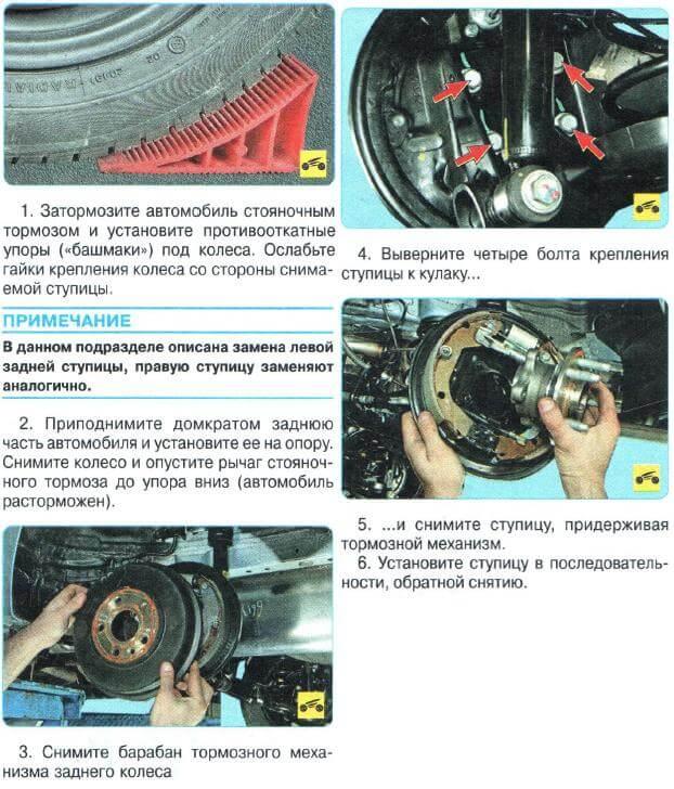 Заміна маточини Aveo T300
