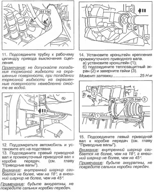 Заміна зчеплення на Mazda 2