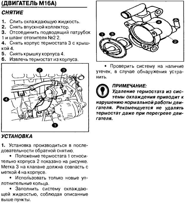 Заміна термостата Suzuki Grand Vitara