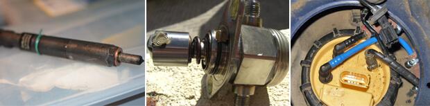 P0087: помилка низького тиску в паливній системі