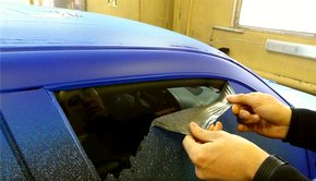 Підготовка авто до фарбування гумової фарбою