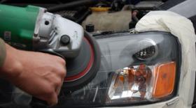 Чим полірувати фари автомобіля