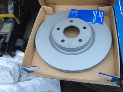 Огляд гальмівних дисків для Форд Фокус 3