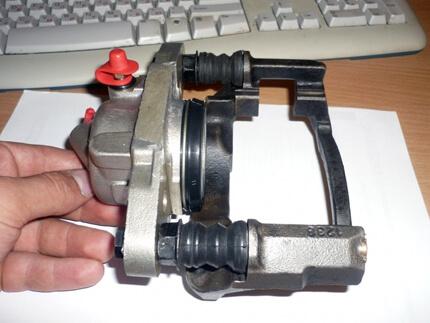 Ремкомплект гальмівного супорта. Склад набору, застосування, виробники