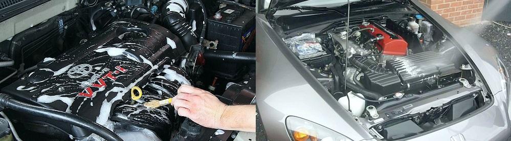 Як помити двигун автомобіля