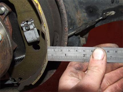 Гальмівні колодки на ВАЗ 2110