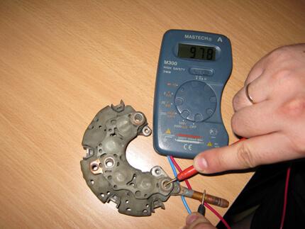 Як перевірити генератор