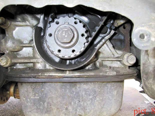 Заміна ременя ГРМ на Mazda з двигуном 2.2 л. (F2)