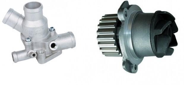 Інтерактивна схема системи охолодження двигуна