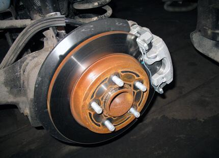 Гальмівні колодки на Форд Фокус 2